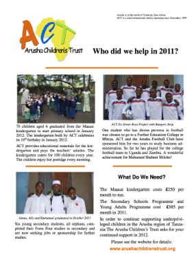 act newsletter 2011